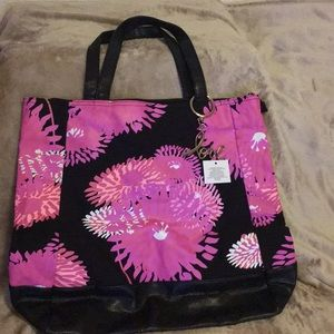 Avon Breast Cancer Pink Hope Oversized Floral Tote
